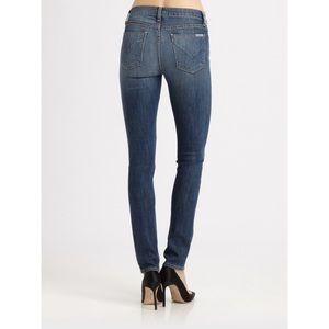 Hudson Gia Midrise Skinny distressed jeans